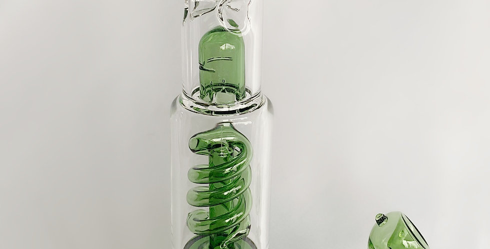 14inch Med Lounge Chamber Perc Glass