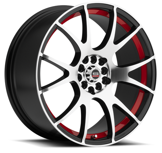 SP-2 Black & Machined (Red Line)