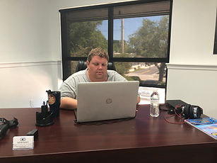 Dustin Tackett - co-owner of Citrus Three, a marketing agency in Vero Beach