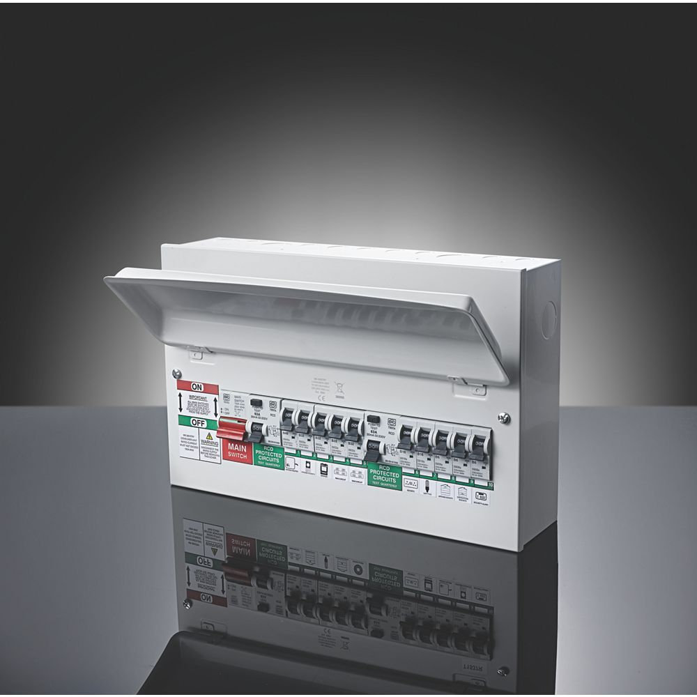 Up To 8 Way Consumer Unit Replacement