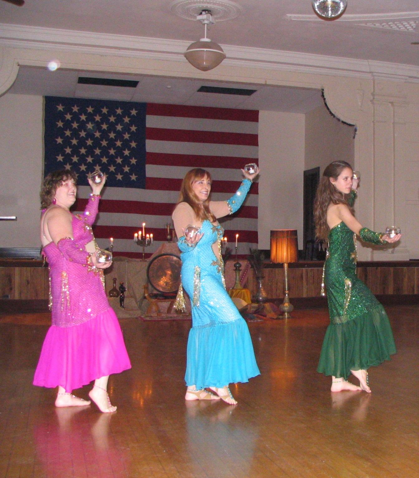 Hafla candle dance