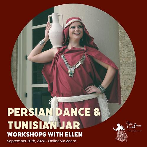 Persian & Tunisian Workshops with Ellen