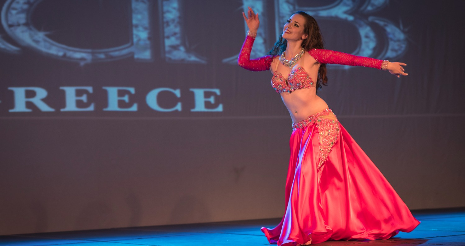 Buffalo Bellydancer Kenzie in Greece