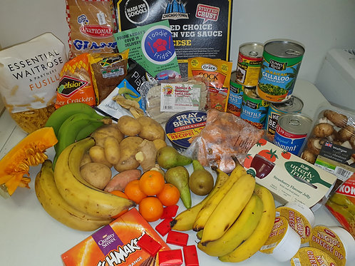 Donate a Foodie Friday Food Parcel