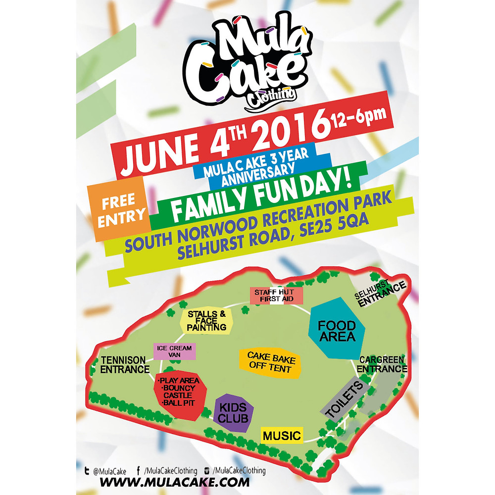 Catch us down at the Family Fun Day 4th June