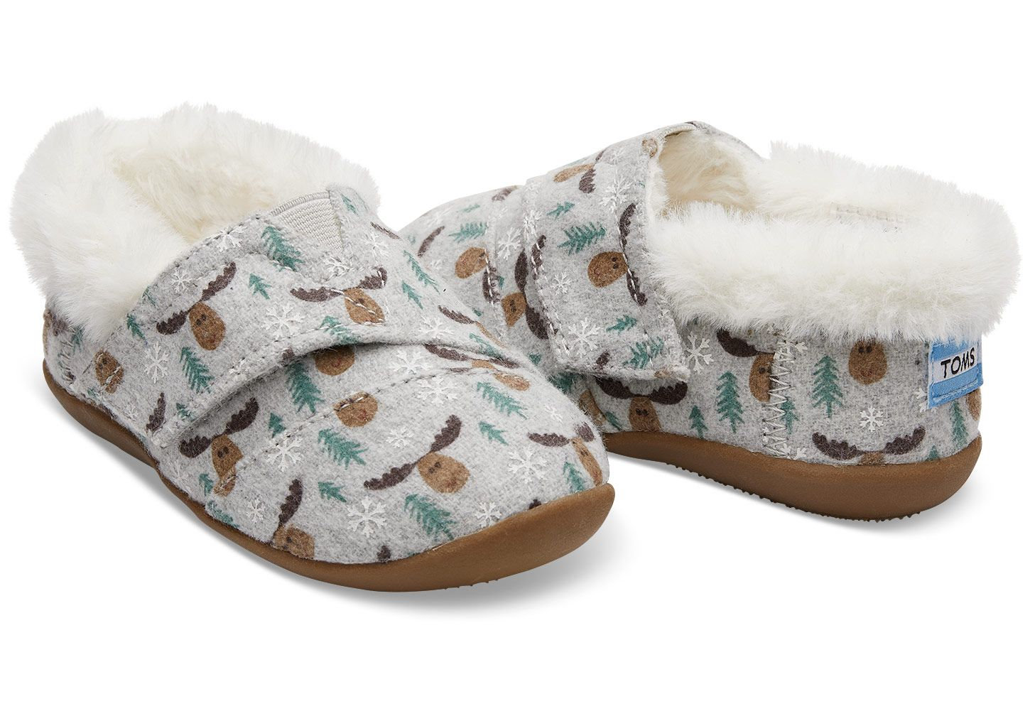 54d6b2bd9ac TOMS DRIZZLE GREY MOOSE TINY TOMS SLIPPERS