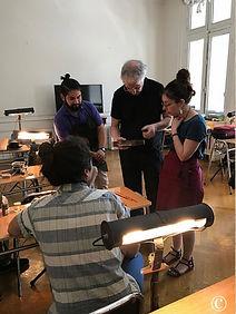 Geigenbaumeister Stefan Sielaff, Workshop Santiago de Chile
