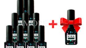 Акция! 10 гель-лаков Kira Nails + гель-лак Kira Nails в подарок!