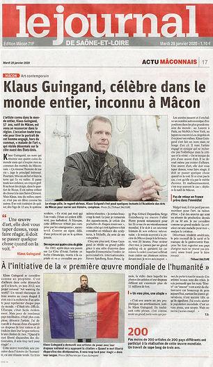 klaus Guingand presse - 2020