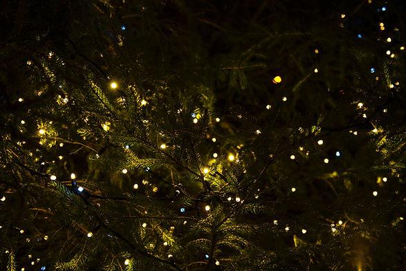 クリスマスのあかり