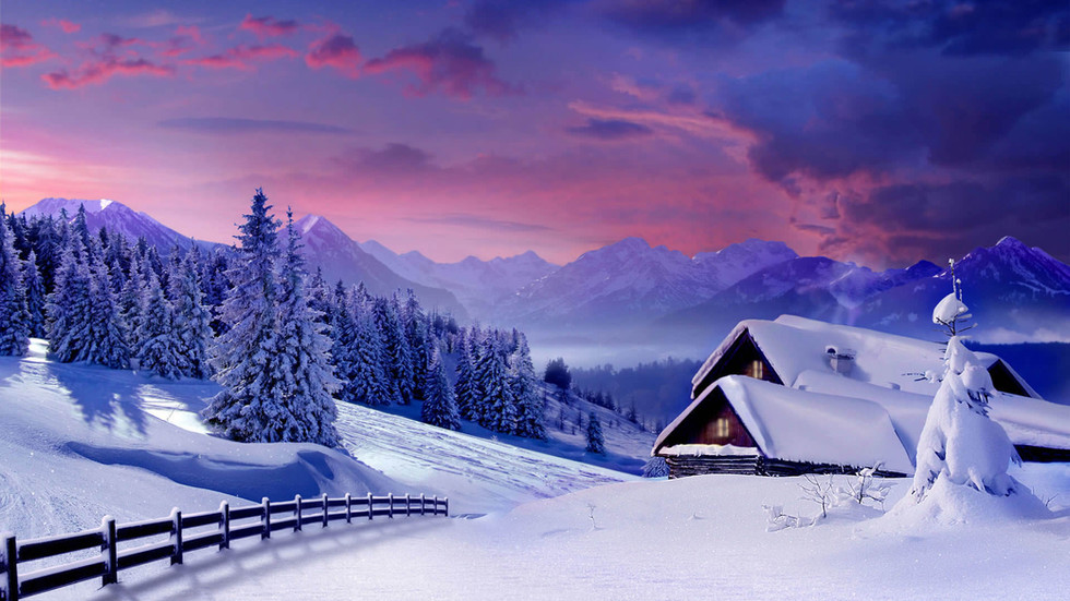 beautiful-winter-log-cabin-wallpaper-192