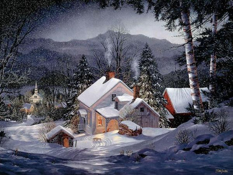 Home for Christmas in the Woods.jpg