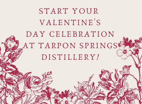 Special Valentine's Day celebration at Tarpon Springs Distillery!