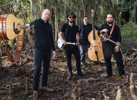 Gramling Woods Moonshine Concert Series: Brett Bass and Melted Plectrum (Bluegrass!)