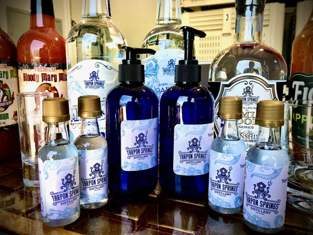 Phase 1: Tarpon Springs Distillery is reopening for retail sales!!!