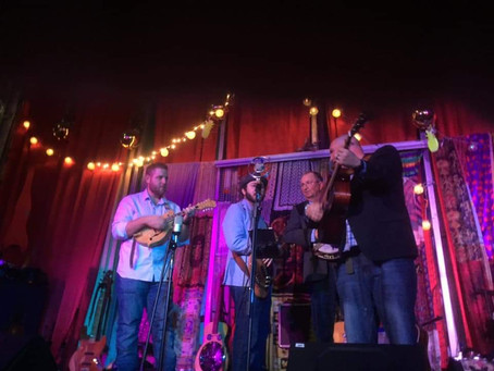 Gramling Woods Concert #4: Justin Mason and Blue Night + Barry and Lisa's 40th Anniversary Blowout!
