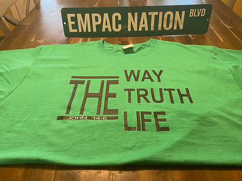 The Way Shirt Green