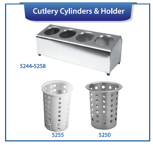 CUTLERY CYLINDERS & HOLDERS