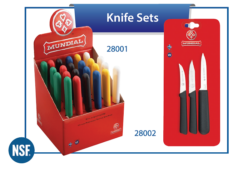 MUNDIAL® KNIVES AND KNIFE ACCESSORIES