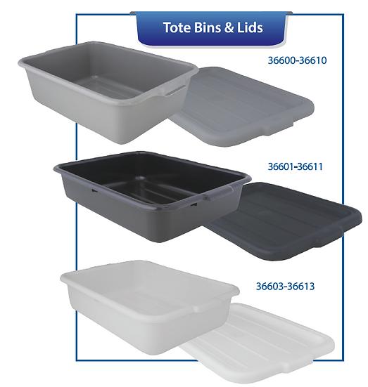 TOTE BOXES & LIDS