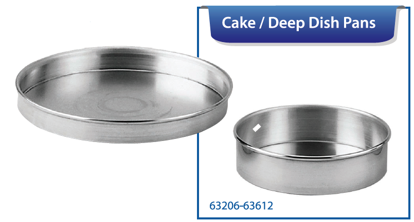 CAKE/DEEP DISH PIZZA PANS