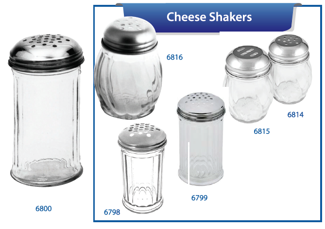 CHEESE SHAKERS