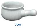 ONION SOUP BOWL, WHITE