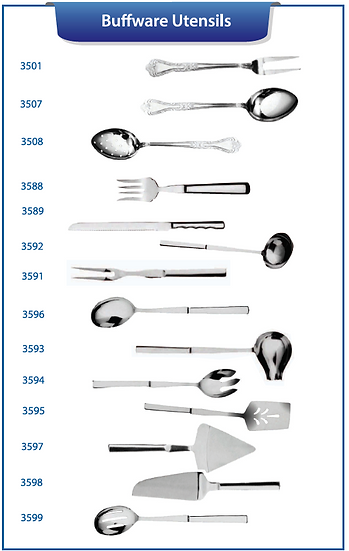 DELUXE BUFFET UTENSILS