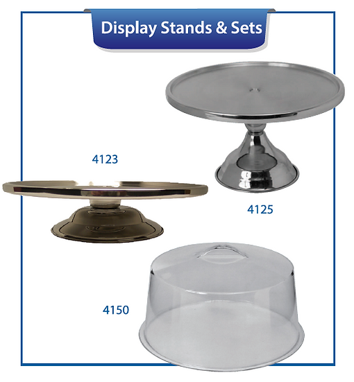 DISPLAY STANDS & SETS