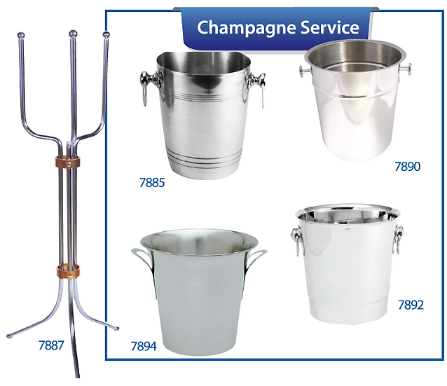CHAMPAGNE STAND / BUCKETS