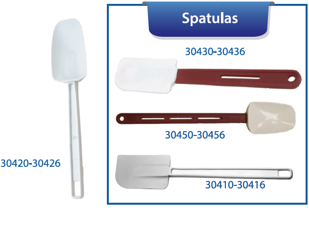 SPATULAS/BOWL SCRAPERS
