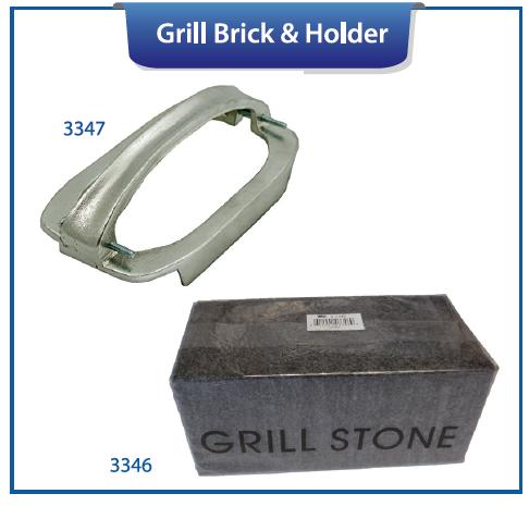 GRILL BRICK & HOLDER