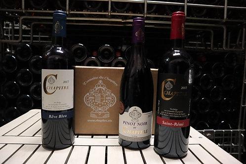 Trio de Rouges - Pack 6 bouteilles