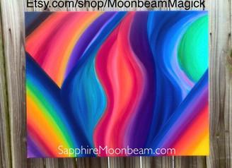 A dreamy rainbow...
