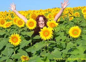 I walked in fields of gold