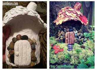 Autumn Fairy House