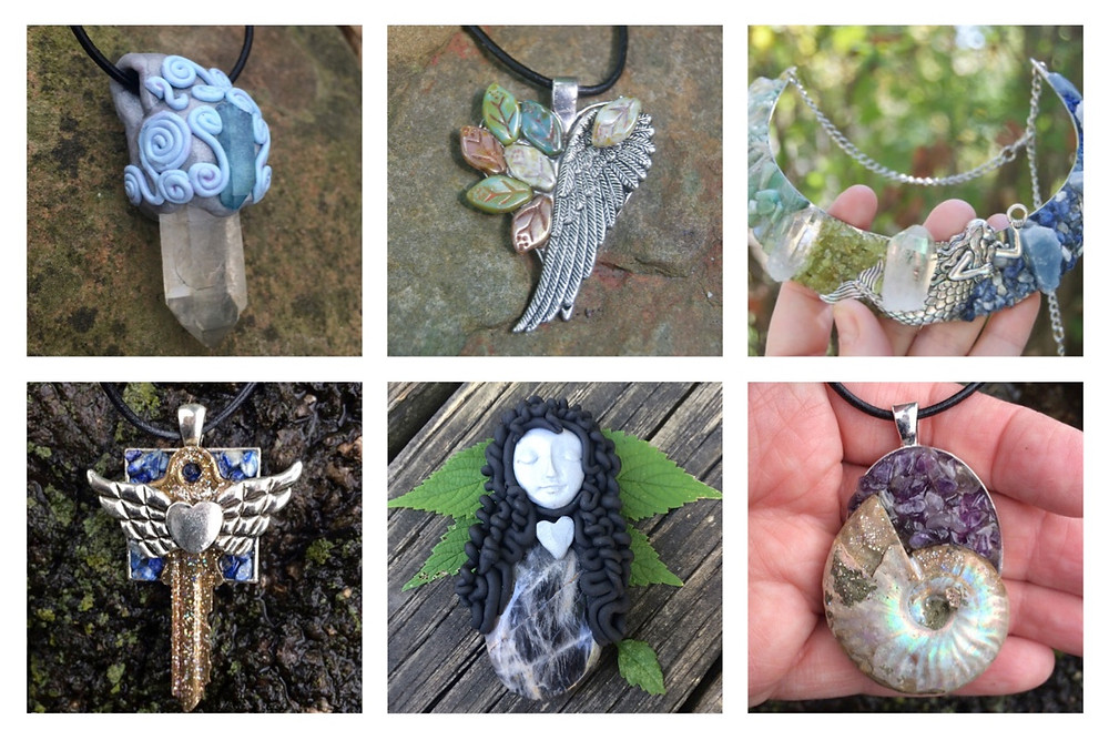 Handmade metaphysical jewelry