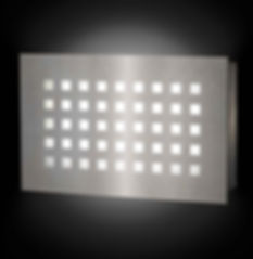 Rectangle Squared Wall Sconce
