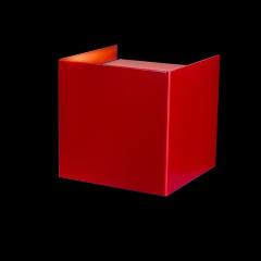 Cubed Red