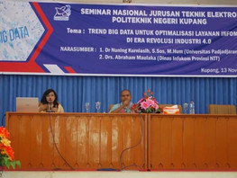 Seminar Nasional: Trend Big Data untuk Optimalisasi Layanan Informasi di Era Revolusi Industri 4.0