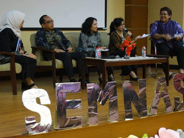 Seminar Nasional: Preparing Information Society to Achieve the Implementation of Sustainable Develop