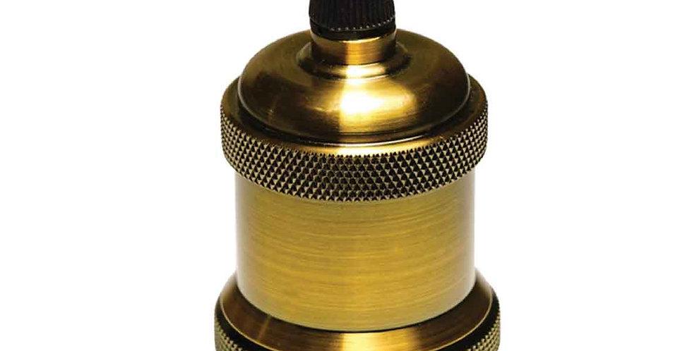 ฺBB1-A  (สีantique)ทองเหลืองแท้ ไม่มีสวิทซ์