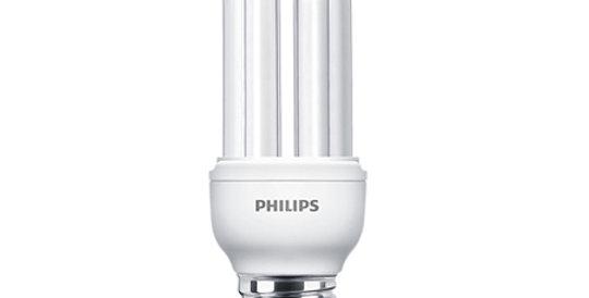 หลอดไฟฟลูออเรสเซนต์ Philips Genie 14w รุ่น หลอดตะเกียบ จีนี่ ขั้ว E27