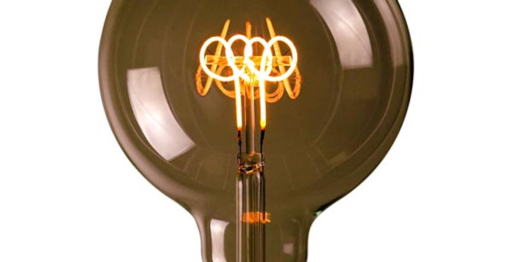 หลอดไฟวินเทจ เอดิสัน LED vintage G125-LH2-4w ขั้ว E27 ดิมได้