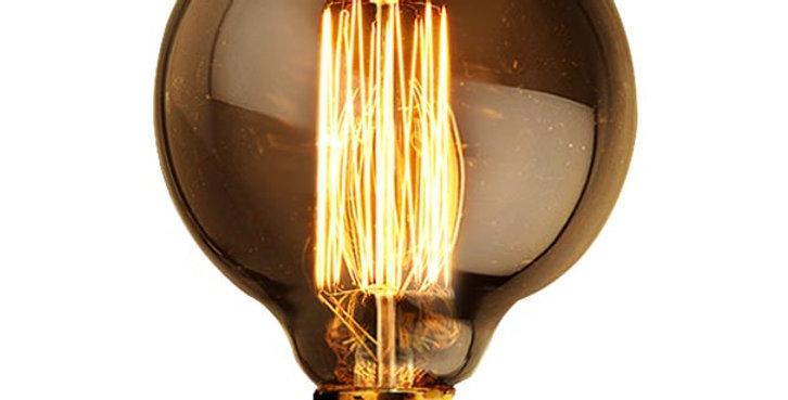 หลอดไฟไส้เอดิสัน edison bulb G125-CSC 40w ขั้วไฟ e27 สไตล์วินเทจ