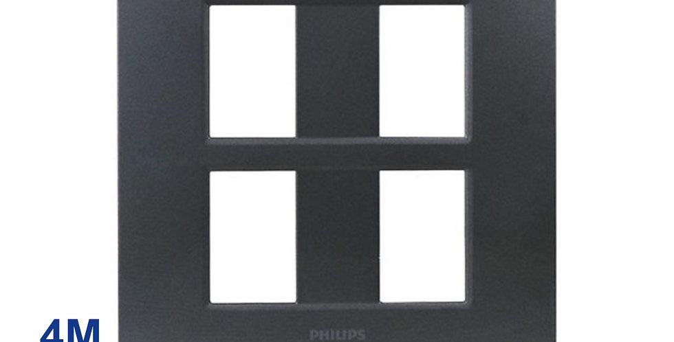 Philips หน้ากาก ฝา 4 ช่อง