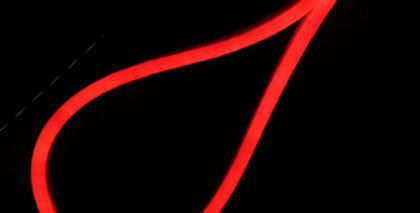 LED NEON FLEX 220V 9W สีแดง IP65