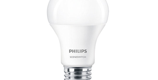หลอดไฟ LED ยี่ห้อ Philips รุ่น Scene Switch8W ขั้ว E27