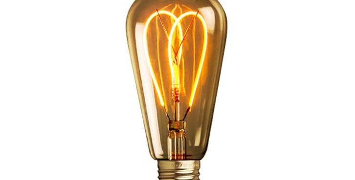 หลอดไฟวินเทจ เอดิสัน LED vintage ST64-LW1-4w ขั้ว E27 ดิมได้
