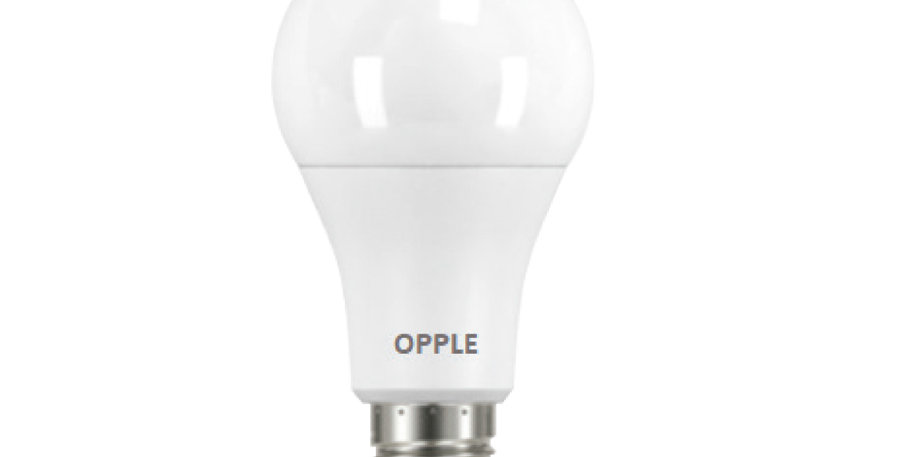 หลอดไฟ LED ยี่ห้อ Opple รุ่น EcoBulb 12W A70 ขั้ว E27 กล่องขาวออปเปิ้ล